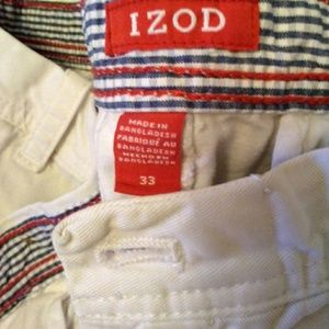 Mens Preowned size 33 Izod shorts